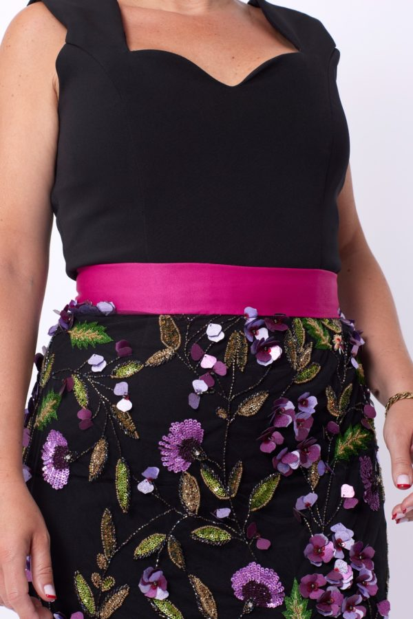 falda sobrepuesta